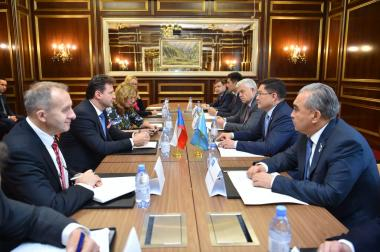 Czech businessmen are interested in cooperation with Shymkent businessmen